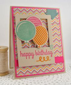 Happy Birthday by Simply Handmade - Cards and Paper Crafts at Splitcoaststampers