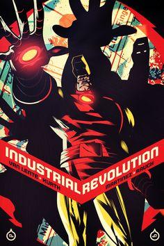Iron Man: Industrial Revolution Art Series