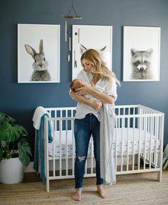 Minimal Boho Nursery – Project Nursery – Best Baby Boy Nursery Ideas, Rooms, Tips Baby Bedroom, Baby Boy Rooms, Baby Room Decor, Baby Boy Nurseries, Kids Bedroom, Playroom Decor, Baby Room Boys, Modern Nurseries, Bedroom Ideas