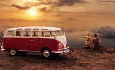 """Tiny Big Vacation"" Miniature Self Portrait by Aneel neupane"