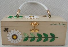 Beautiful ENID COLLINS vintage box bag
