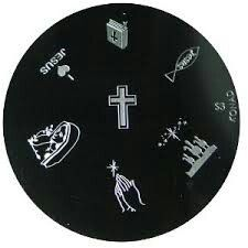 Konad Stamping Nail Art Image Plate - S3 for Rs 130 from Urbantouch.com