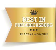 Best in Fredericksburg by Texas Monthly