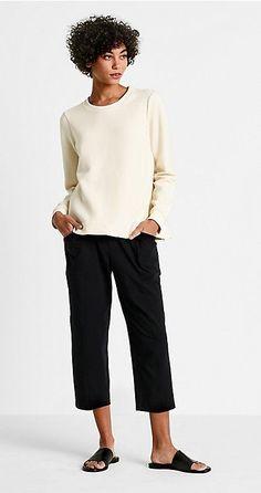 Best Fashion Tips For Women Over 60 - Fashion Trends Over 60 Fashion, Over 50 Womens Fashion, Fashion Tips For Women, Quoi Porter, Mode Inspiration, Eileen Fisher, Minimalist Fashion, Fashion Outfits, Fashion Trends