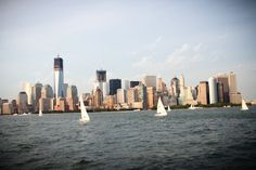 New York - Sailing into the sunset