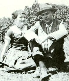 Edward Hopper and wife and fellow artist, Jo