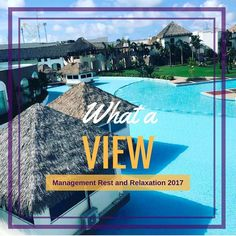 Every year the management team picks a resort destination to travel to. This year we went to Punta Cana Dominican Republic. We're thankful for the opportunity to travel grow be mentored and develop. Look at those views!  #RandR2017 #Success #Thankful