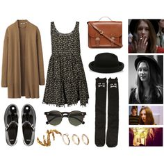 """Violet Harmon (AHS) Inspired"" by gthompson874 on Polyvore"