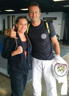 Alex and young fan