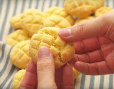 材料4つでサクふわ感!メロンパンクッキーの作り方