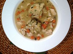 Herbed Chicken & Dumplings - 8 Weight Watchers Points+