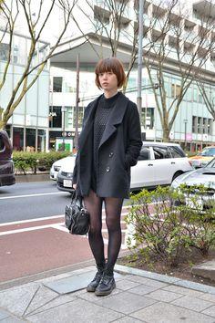 Tokyo street style: Hanae