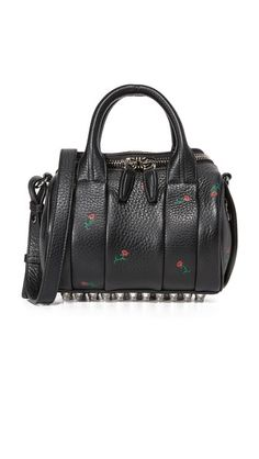 Black Multi Alexander Wang Mini Rockie Duffel Bag