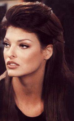 "1990s Linda Evangelista - supermodel Kevyn Aucoin ""nude"""
