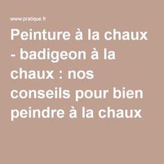 1000 ideas about badigeon on pinterest - Peinture a la chaux tollens ...