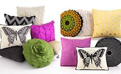 CLOSEOUT! Coordinating Decorative Pillows