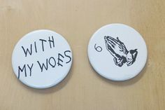 Drake Lyrics With My Woes Goods 2 Inch Button by SaavyInc Drake Lyrics, Make And Sell, Decorative Plates, Buttons, Knots, Plugs