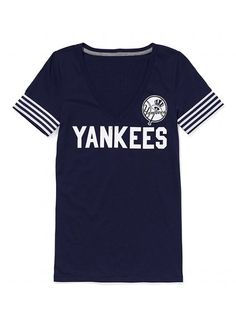 So excited for Baseball Season...need to add this to my Yankees gear. Thank you Victoria's Secret :)