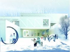 Beaux Arts Museum in Quebec: by OMA.