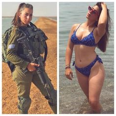 Check Out 32 Of The Hottest Professional Girls In And Out Of Uniform Idf Women, Military Women, Sexy Bikini, Bikini Girls, Bikini Babes, Mädchen In Uniform, Female Army Soldier, Mädchen In Bikinis, Military Girl