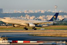 Saudi Arabian Airlines (now Saudia) Airbus A330-343