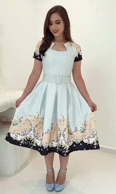 Swans Style is the top online fashion store for women. Shop sexy club dresses, jeans, shoes, bodysuits, skirts and more. Modest Dresses, Pretty Dresses, Casual Dresses, Prom Dresses, Vintage Inspired Dresses, Vintage Dresses, Skirt Outfits, Dress Skirt, Modest Fashion