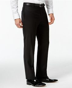Tommy Hilfiger Black Classic-Fit Tuxedo Suit Separates - Tuxedos & Formalwear - Men - Macy's