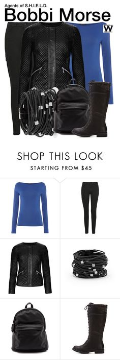 """""""Agents of S.H.I.E.L.D."""" by wearwhatyouwatch ❤ liked on Polyvore featuring Sarah Pacini, 7 For All Mankind, M&S Collection, Chico's, Qupid, women's clothing, women, female, woman and misses"""