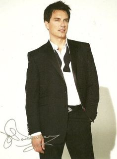 John in a tux. *brb* Fangirling now.