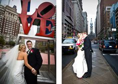 Will you by chance be near Love park...because I think this would be a sweet photo of you two.