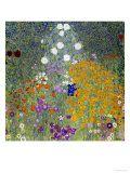 Flower Garden  1905-07-Gustav Klimt