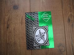 birthday card using kanban cards