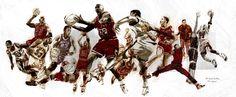 The Legend - Michael Jordan by John Woo, via Behance