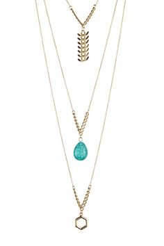Bahia Trio Necklace by Jules Smith on @HauteLook