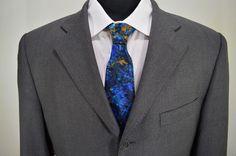 PRISTINE LORO PIANA ITALY mens gray 3 button wool sport coat blazer 40S 40 short #loropiana #ThreeButton