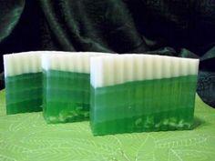 Cucumber Soap By Soap By Nancy  www.glycerin-soaps.com