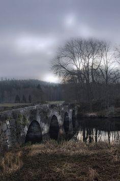 Den gamla stenbron i Seglora, Västergötland, foto Jan Puuraid