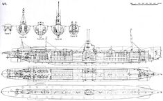 The first true German U-boot, the U-1 |  1906 | 2452 × 1523 | See also: http://en.wikipedia.org/wiki/SM_U-1_(Germany) #nautilus