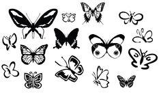 KLDezign les SVG: Des papillons