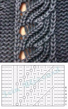 Best knitting ideas June 22 2019 at Lace Knitting Stitches, Lace Knitting Patterns, Knitting Charts, Lace Patterns, Knitting Designs, Knitting Yarn, Free Knitting, Knitting Ideas, Diy Crafts Crochet
