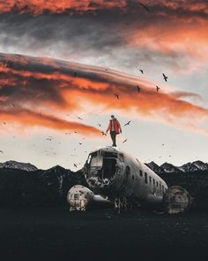 Gorgeous and Dreamful Photo Manipulations by Wesley Grim #photography