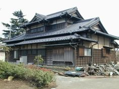 elements of traditional japanese house - Traditional Japanese Home Design
