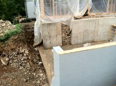 poured wall is complete