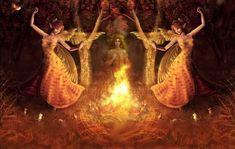 brigid – Journeying to the Goddess Celtic Goddess, Celtic Mythology, Beltane, Sacred Feminine, Witches Brew, Gods And Goddesses, Faeries, Deities, Magick