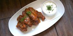 Nicholetta's Spicy Double #FriedChicken Wings Glazed In Calabrian Chiles and Honey. - Zagat