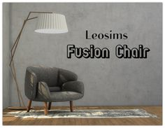 Sims 4 CC's - The Best: Fusion Chair by 13Pumkin31
