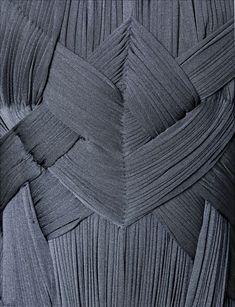 Madame Gres Evening dress, Stoneware | Palais Galliera | Fashion Museum of the City of Paris sculptural modern futuristic fashion fabric textile detail