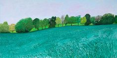 Having left behind the swimming pools of Southern California for the woods of England, David Hockney's new paintings capture the landscape of his youth. David Hockney Artwork, David Hockney Landscapes, David Hockney Artist, Landscape Art, Landscape Paintings, Pop Art Movement, Robert Rauschenberg, Edward Hopper, Arte Pop