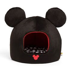Disney Mickey Mouse Dome Pet Bed - DIS-MWH-MIC-BLK