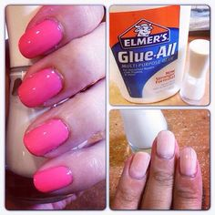 Want Those Gel Looking Nails Without Spending A Bunch Of Money!!